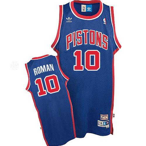 size 40 b197e fa4c0 Mens Adidas Detroit Pistons 10 Dennis Rodman Authentic Blue ...